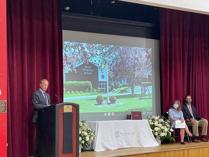 Saint Gregory's School graduation 2021